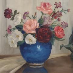 Corrine Jackson Still Life Oil Painting By Corinne Jackson circa 1935 - 1166099