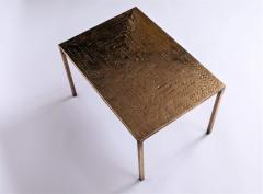 Costa Coulentianos Pair of Bronze Side Tables - 537968