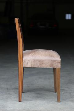 Costantini Design Renzo Contemporary Argentine Rosewood and Leather Side Chair from Costantini - 406107