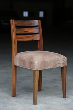 Costantini Design Renzo Contemporary Argentine Rosewood and Leather Side Chair from Costantini - 406110