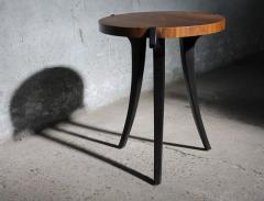 Costantini Design Uccello Ebonized Wood Sabre Leg Side Table - 406045