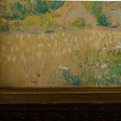 Country Cottage unsigned painting - 2128912
