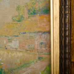 Country Cottage unsigned painting - 2128937
