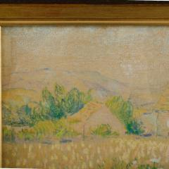 Country Cottage unsigned painting - 2128999