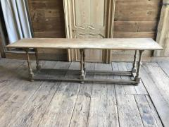 Country Pine Trestle Table 19th Century - 356855