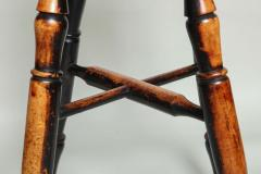 Country Stool with Wonderful Surface - 661577