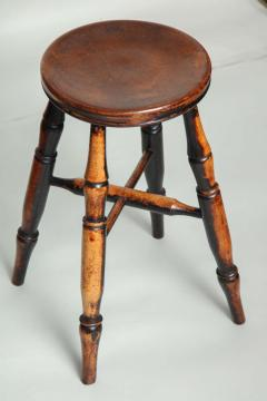 Country Stool with Wonderful Surface - 661579