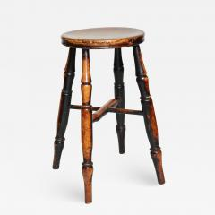 Country Stool with Wonderful Surface - 663286