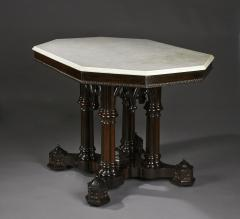 Crawford Ridell Philadelphia Gothic Center Table Circa 1845 - 326893