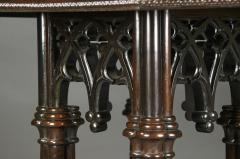 Crawford Ridell Philadelphia Gothic Center Table Circa 1845 - 326894
