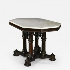 Crawford Ridell Philadelphia Gothic Center Table Circa 1845 - 327154