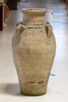 Cream colored Amphora or Biot Pot with 3 handles - 1615157