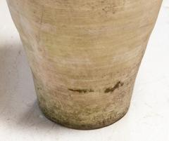 Cream colored Amphora or Biot Pot with 3 handles - 1615158