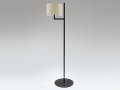 Cuatro Blackened Steel Floor Lamp - 970835