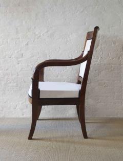 Cuban Mahogany Open Arm Chairs - 796972