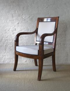 Cuban Mahogany Open Arm Chairs - 796974