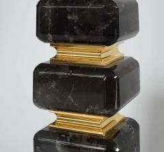 Cubic Form Rock Crystal Lamps by Phoenix - 2007811