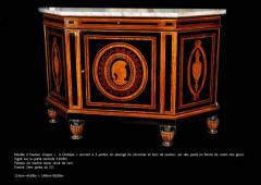 Curious French Sideboard Signed E Duru - 636528