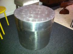 Curtis Jer 1960s Aluminium Covered Box Attributed Jere - 1823761