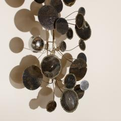 Curtis Jer A raindrop sculpture designed by Curtis Jere for Artisan House Circa 1960 - 1790283