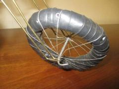Curtis Jer Awesome C Jere Mid Century Modern Style Wire Mototcycle Metal Sculpture - 1843550