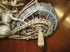 Curtis Jer Awesome C Jere Mid Century Modern Style Wire Mototcycle Metal Sculpture - 1843551