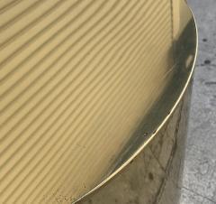 Curtis Jer Brass Pedestal Base by Curtis Jere - 1276214