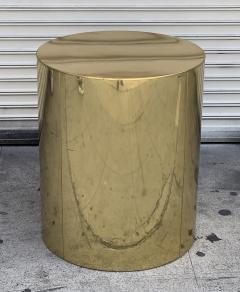 Curtis Jer Brass Pedestal Base by Curtis Jere - 1276217