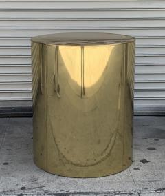 Curtis Jer Brass Pedestal Base by Curtis Jere - 1276220