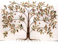 Curtis Jer Curtis Jere Tree Of Life Copper Wall Sculpture - 1689460