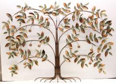 Curtis Jer Curtis Jere Tree Of Life Copper Wall Sculpture - 1689461