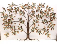 Curtis Jer Curtis Jere Tree Of Life Copper Wall Sculpture - 1689463