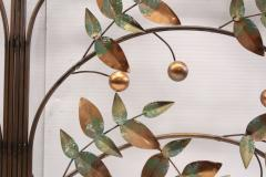 Curtis Jer Curtis Jere Tree Of Life Copper Wall Sculpture - 1689467