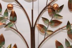 Curtis Jer Curtis Jere Tree Of Life Copper Wall Sculpture - 1689468