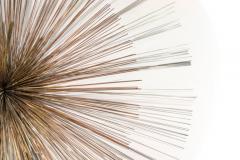 Curtis Jer Curtis Jere for Artisan House Sunburst Sculpture Signed CJ 1979 - 1095576