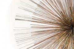 Curtis Jer Curtis Jere for Artisan House Sunburst Sculpture Signed CJ 1979 - 1095577