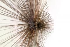 Curtis Jer Curtis Jere for Artisan House Sunburst Sculpture Signed CJ 1979 - 1095578