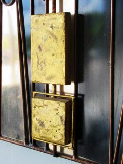 Curtis Jer Rare Curtis Jere Wall Art Sculpture Bronze Brass Enamel and Steel - 687803