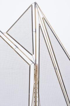 Curtis Jere C Jere Brass Sailboat Model with Onyx Base - 250965