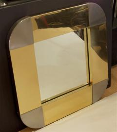 Curtis Jere Curtis Jere Brass Steel Mirror - 429372