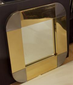 Curtis Jere Curtis Jere Brass Steel Mirror - 429373