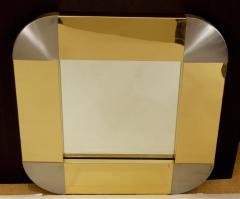 Curtis Jere Curtis Jere Brass Steel Mirror - 429374