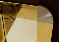 Curtis Jere Curtis Jere Brass Steel Mirror - 429375
