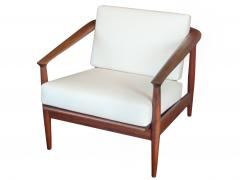 Curved Barrel Back Mid Century Armchairs - 979458