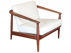 Curved Barrel Back Mid Century Armchairs - 979463