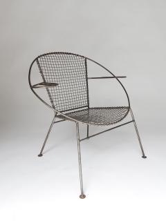 Curved Salterini Iron Steel Chair - 501392