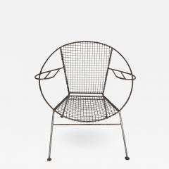 Curved Salterini Iron Steel Chair - 501903