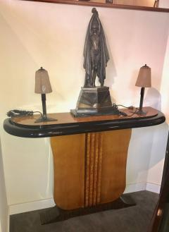 Custom Art Deco Two tone French Style Console - 384185