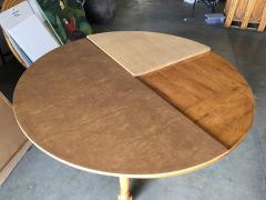 Custom Crafted Oak Drop Leaf Gate Leg Dining Game Table - 1348203