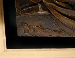 Custom Framed Relief of a Reclining Figure - 253373